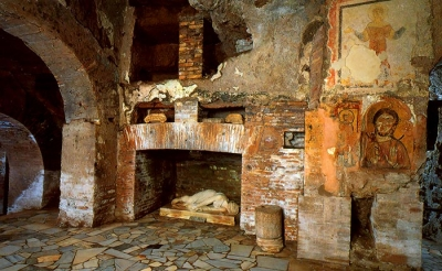 Catacombs of Saint Sebastian, St. Domitilla and St.Callixtus