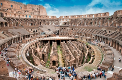 Visit the Colosseum, Underground and Third RIng